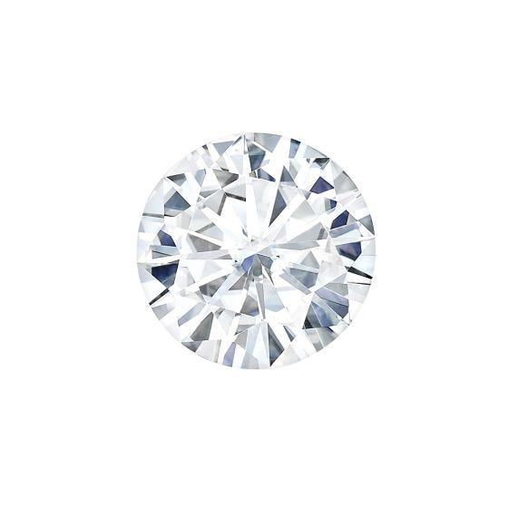 0.80 CTW DEW Round Forever One Moissanite Forever One Round Moissanite Gemstone
