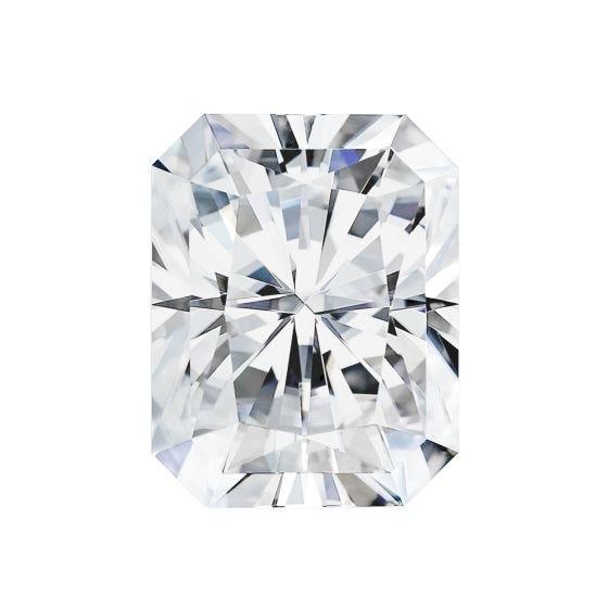 1.80 CTW DEW Radiant Forever One Moissanite Forever One Radiant Moissanite Gemstone
