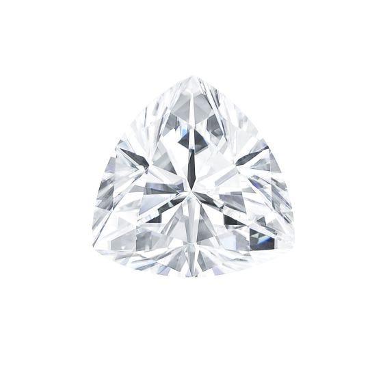0.20 CTW DEW Trillion Forever One Moissanite Trillion Gemstone
