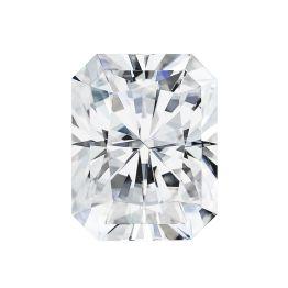 2.70 CTW DEW Radiant Forever One Moissanite Forever One Radiant Moissanite Gemstone Stone Color DEF
