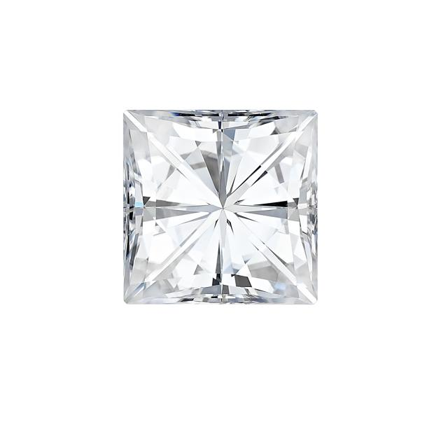 Forever One 2.10CTW Square Colorless Moissanite Gemstone