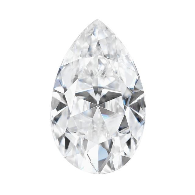 Forever One 0.94CTW Pear Near-Colorless Moissanite Gemstone