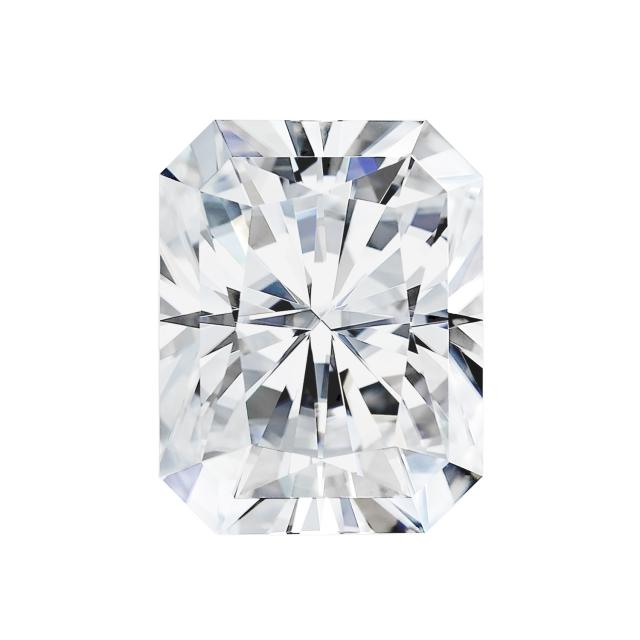 Forever One 1.80CTW Radiant Colorless Moissanite Gemstone