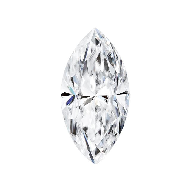 Forever One 0.23CTW Marquise Near-Colorless Moissanite Gemstone