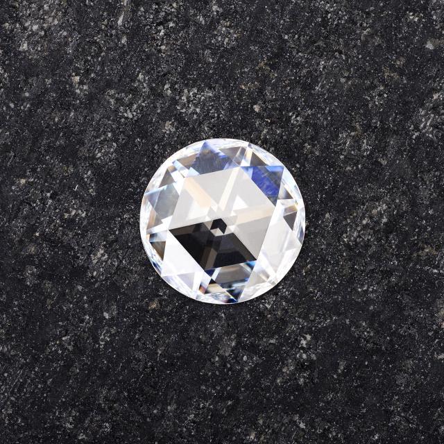 Forever One 1.20CTW Round Rose Cut Moissanite Gemstone