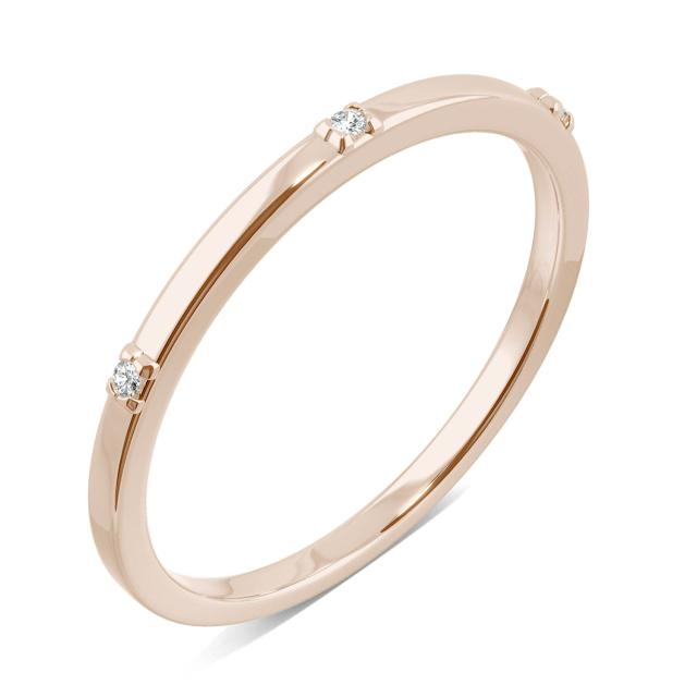 Tiny Accents Stacker Ring in 14K Rose Gold