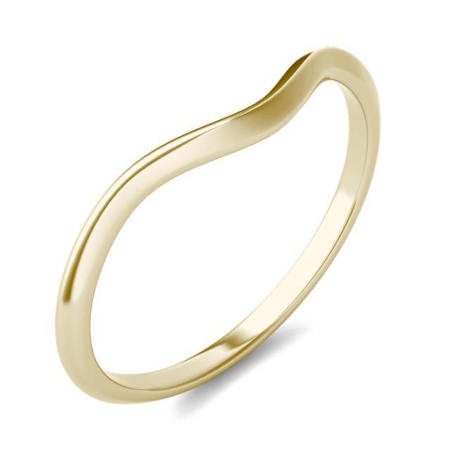 Signature Matching Wedding Band 14K Yellow Gold