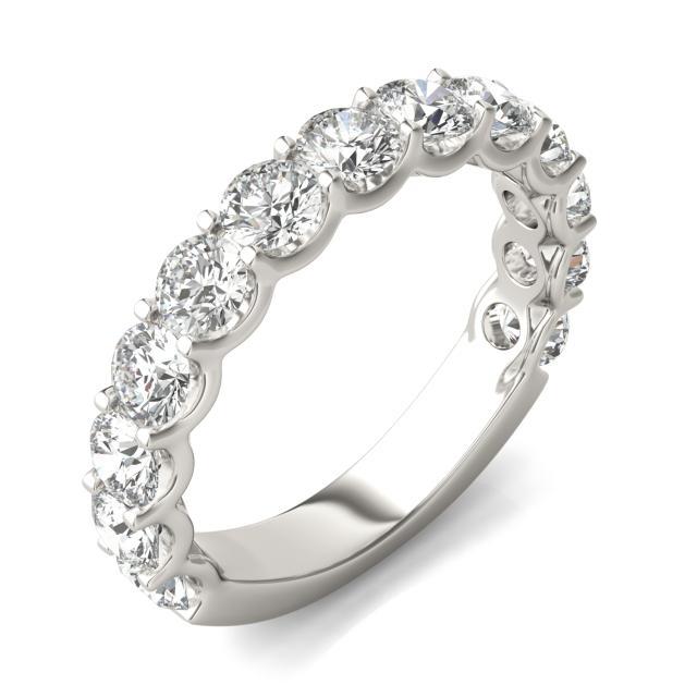 2 1/15 CTW Round Caydia Lab Grown Diamond Ring 14K White Gold