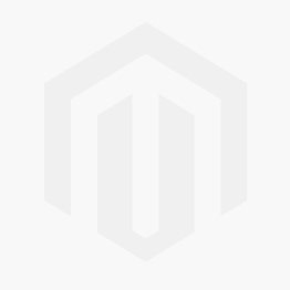 0.47 CTW Round Forever One Moissanite Milgrain Cross Pendant in 14K White Gold