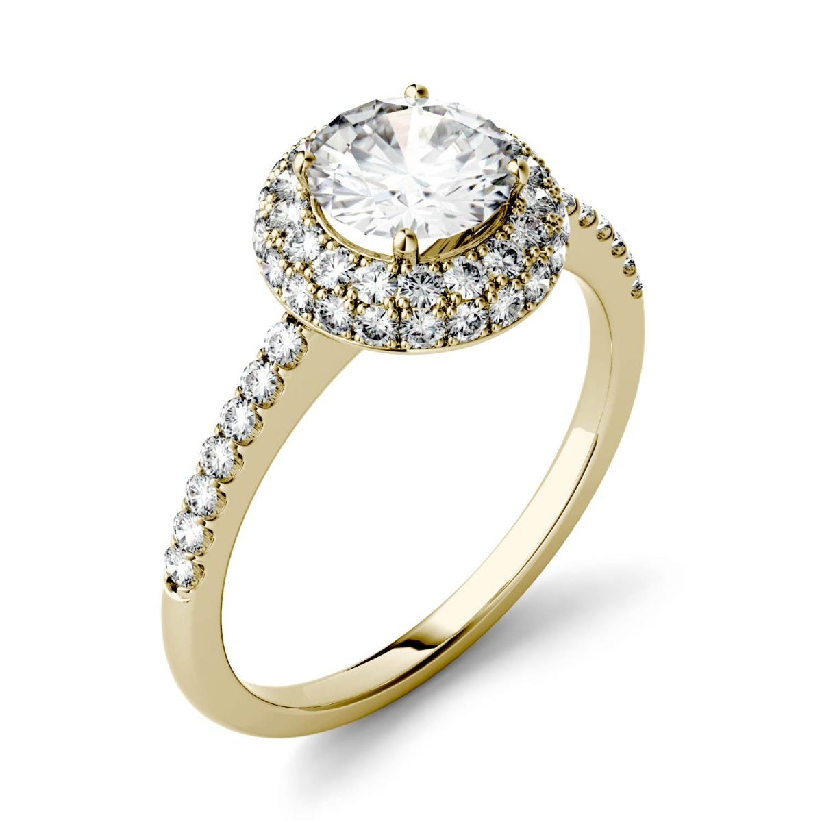 promise white gemstone halo checkout gold shipping for moissanite engagement flower her at calculated sku ring