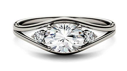 Forever One Moissanite Ring