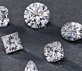 Forever One Moissanite Gemstones