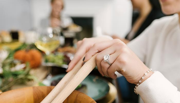 How Engaging! Our Top 5 Moissanite Engagement Rings for the 2018 Holiday Season