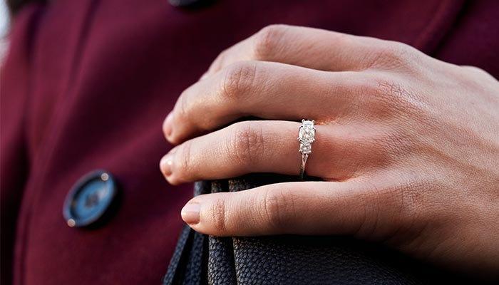 Moissanite Engagement Rings are 2018's Hottest Trend on Pinterest