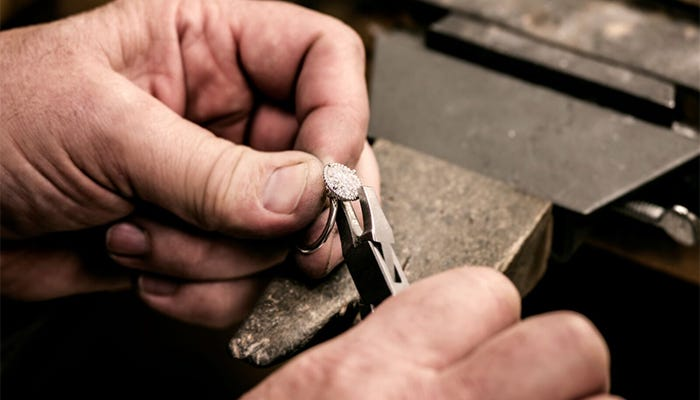 Working with Moissanite Part 1 – Repairs, Sizing and Re-Tipping