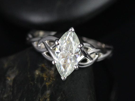 A Guide to Moissanite Stone Shapes, Part 1