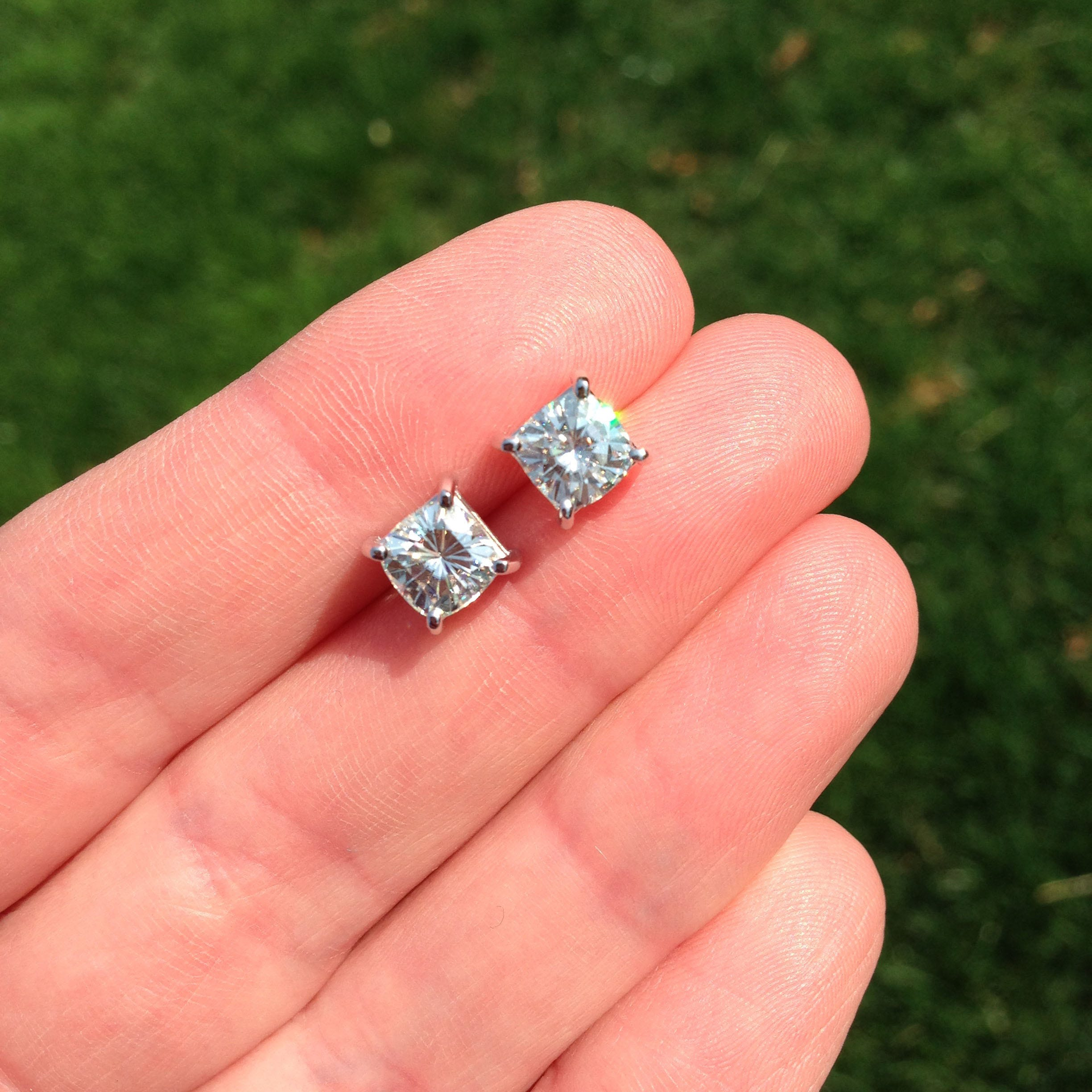 Moissanite in a Different Light