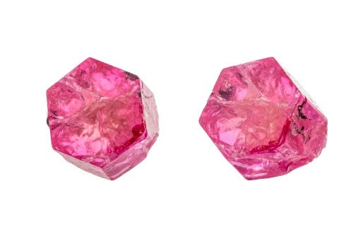 Gem quality red beryl can sell for as much as $10,000/carat when faceted