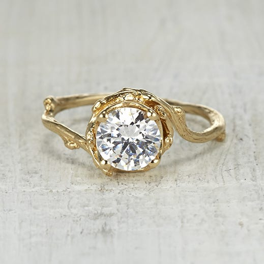 Naples 6mm Engagement Ring, Olivia Ewing, $1,998