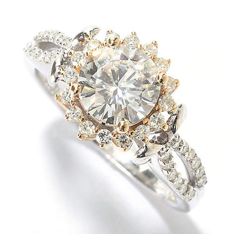 Nathalie's favorite item in the EVINE Live Forever Moissanite™ collection.