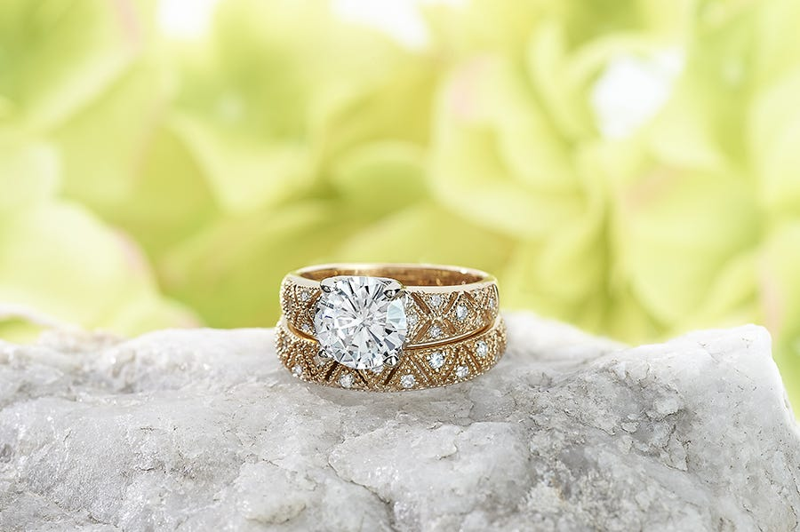Lonette by Venazia, available on Moissanite.com