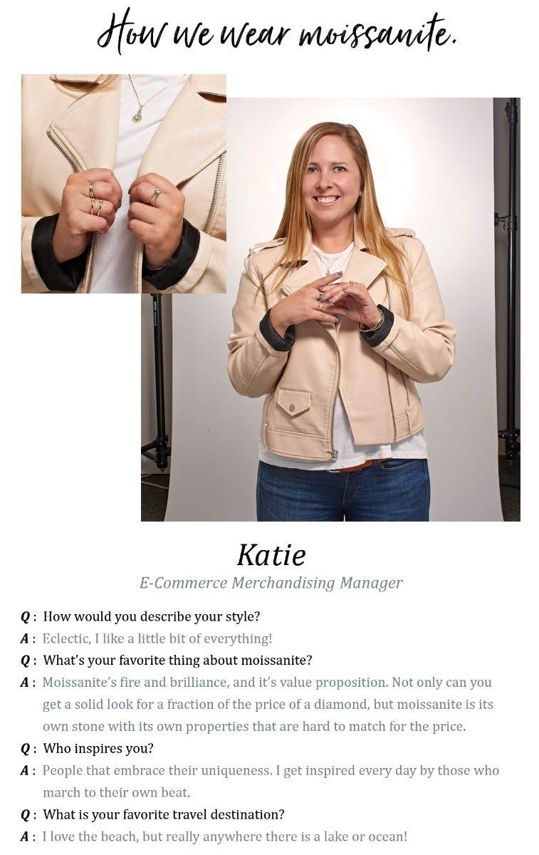 Katie's Moissanite Picks