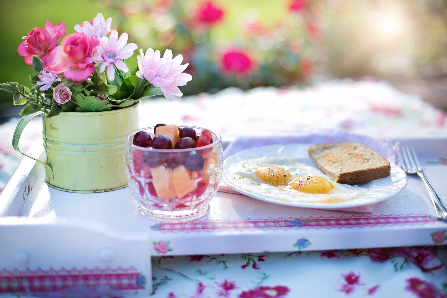 Serve mom breakfast in bed!