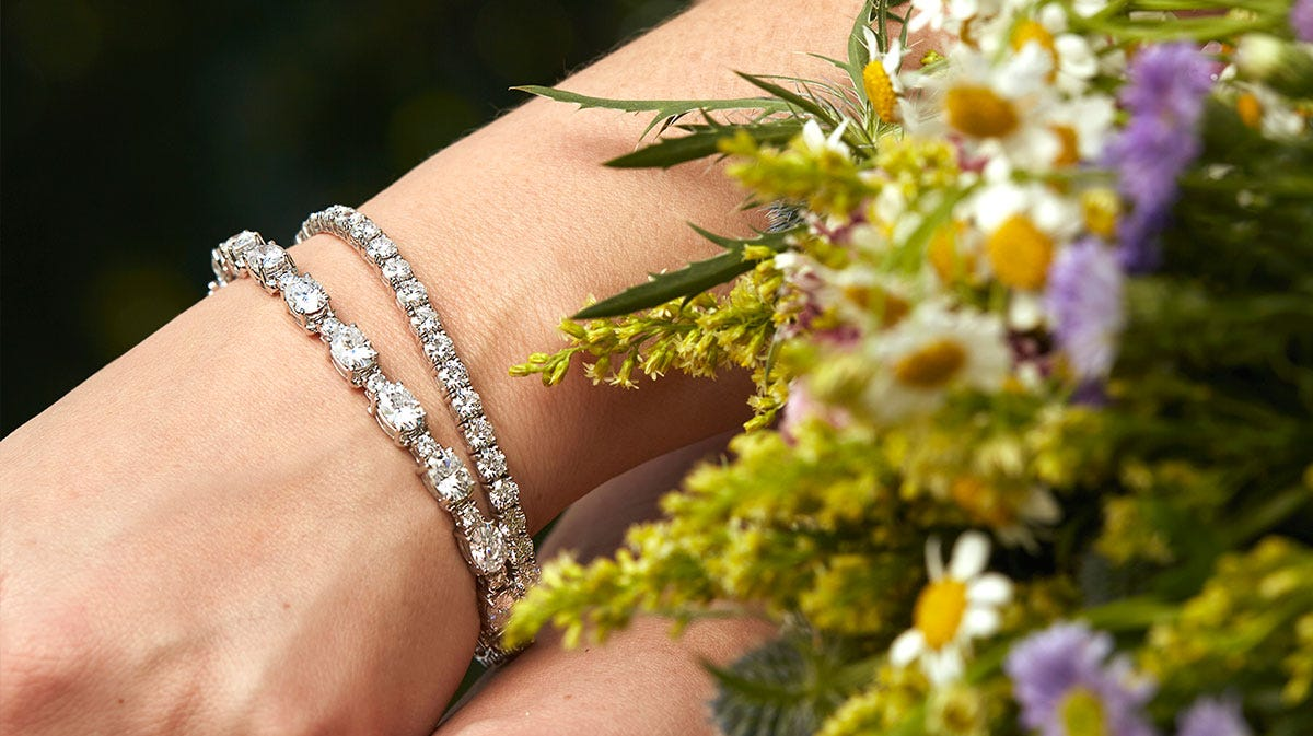 Shop Moissanite Bracelets