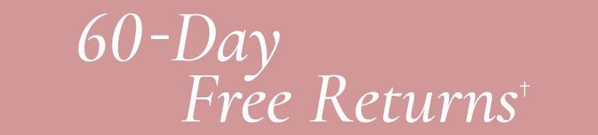 60-Day, Free Returns!