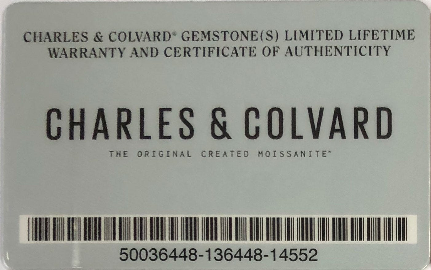 Charles & Colvard Warranty for Our Moissanite | Charles